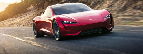 The new Roadster Tesla released at the end of last year.