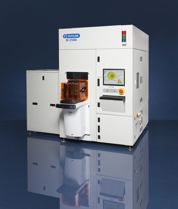 QC-2500e capable of characterizing and measuring a thickness of epitaxy wafers.