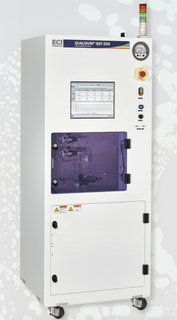 ECI Technology Korea's Analyzer for Cleaning, Quali-Surf.