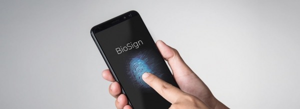 BioSign is the Suprema's algorithm for fingerprint on display