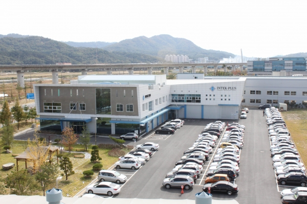INTEKPLUS, semiconductor inspection equipment company in Daejeon