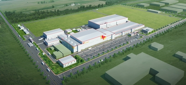 SK Innovation's Hungary Komárom factory image