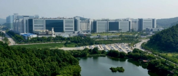 Samsung Display's Asan1 Campus in South Chungcheong Province.