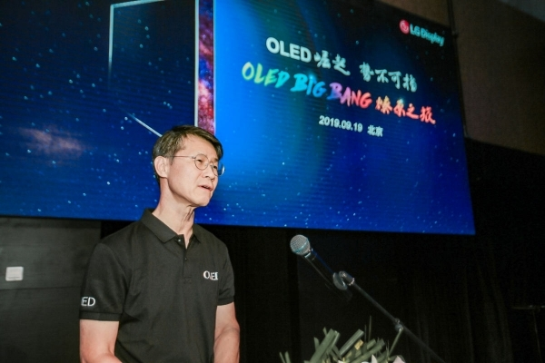 Oh Chang-ho, LG Display's TV business in China