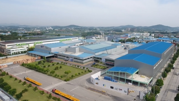 SK Nexilis' envisioned plant in Jeongup, South Korea.