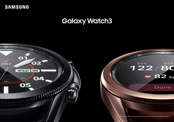 Galaxy Watch3 Image: Samsung